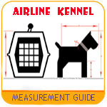 airline kennel measurement sizing guide