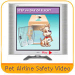 Pet Airline TRAVEL Safety Video