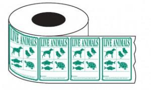 IATA Live Animal Species Labels