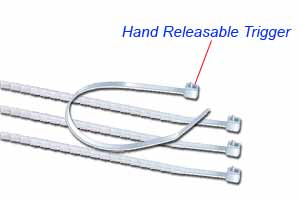 kennel cable ties - releasable