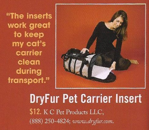 DryFur tested and reviewed by Cat Fancy