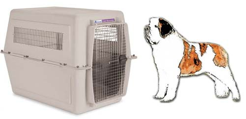 St. Bernard Airline Crate 700