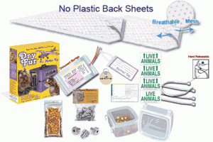 pet airline kits breathable absorbent pads