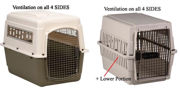 kennel ventilation 4 sides