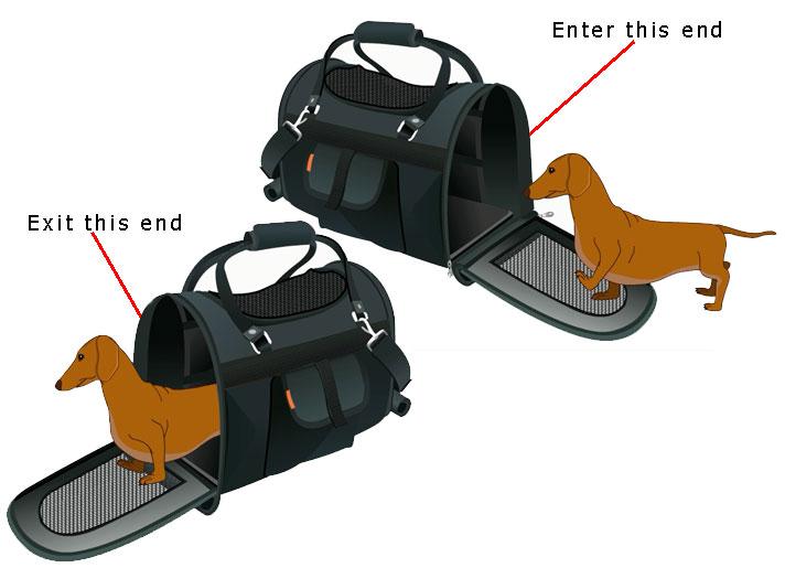 Dual Door Pet Carrier Bag