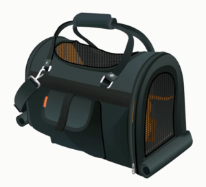 pet Carrier with Screen top