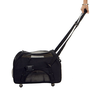 pet carrier with wheels
