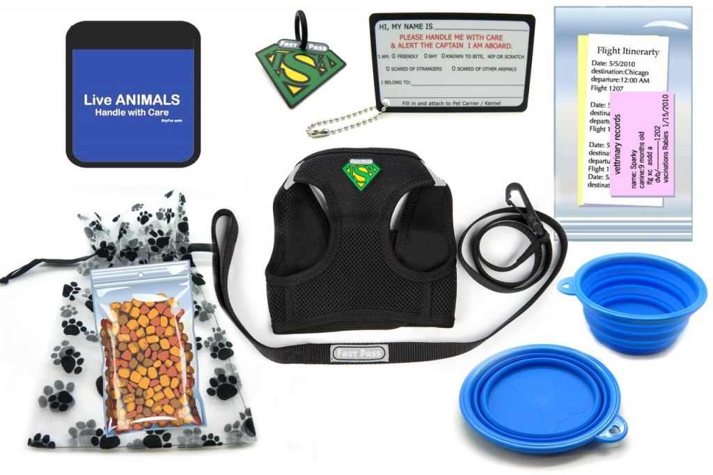 Pet Airline Kit for in Cabin