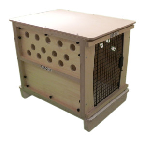 CR82 reinforced wood crate
